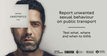 Report unwanted sexual behaviour on public transport by texting what, where and when to 61016
