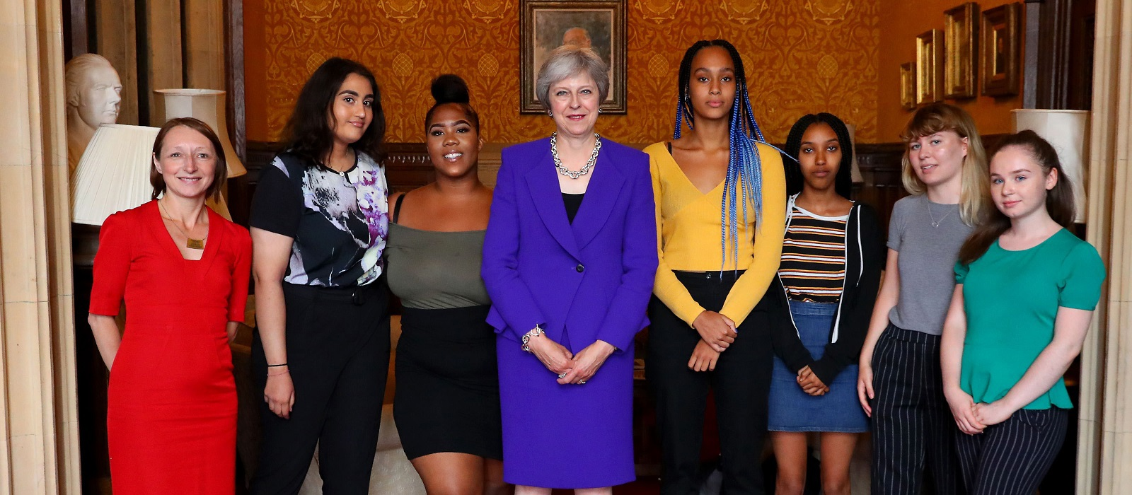 Prime Minister encourages young women to get into politics