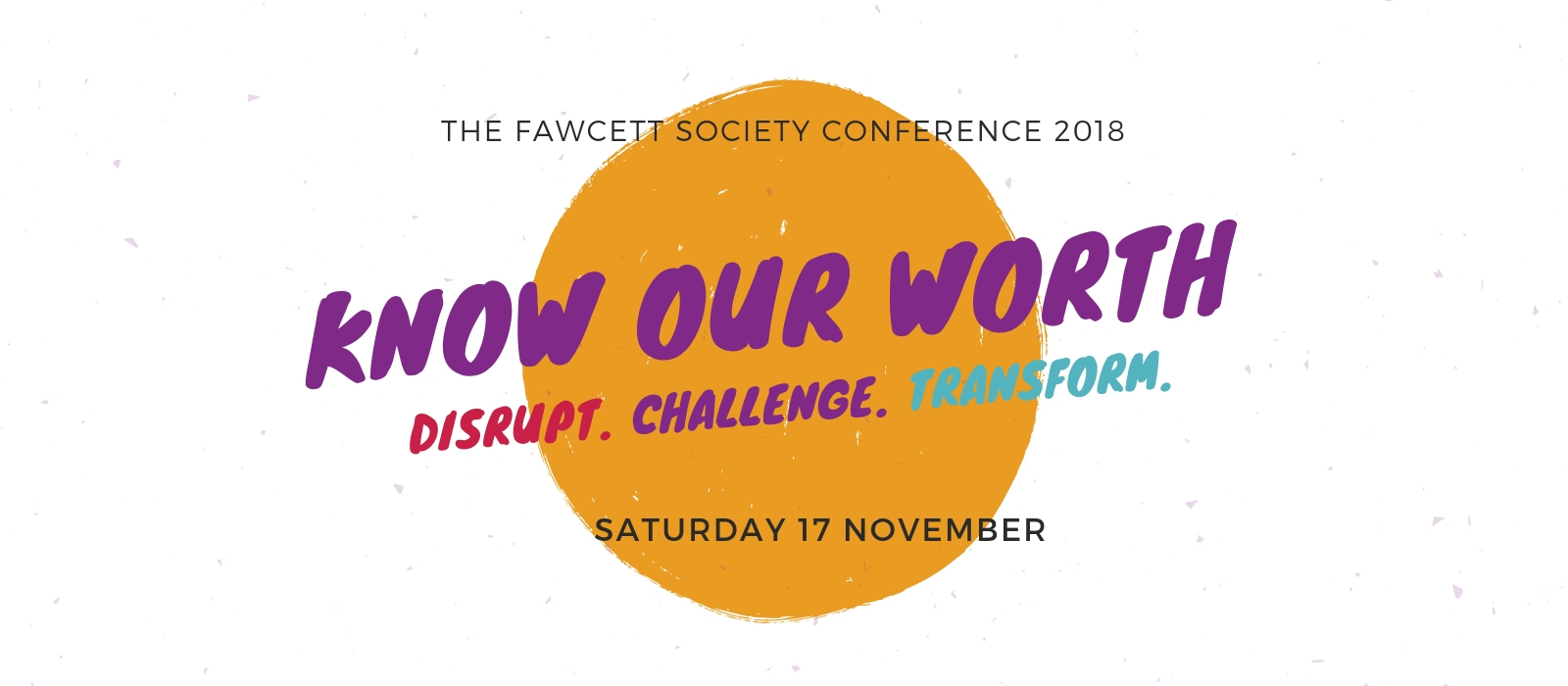 Know Our Worth Conference 2018