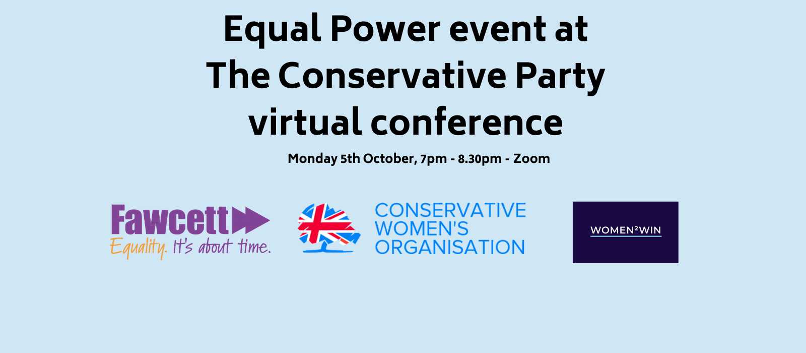 Equal Power: Conservative Party Conference