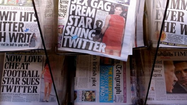 tabloid newspapers