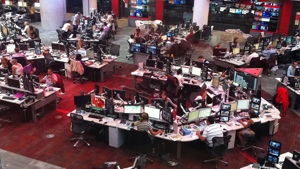 BBC broadcasting floor