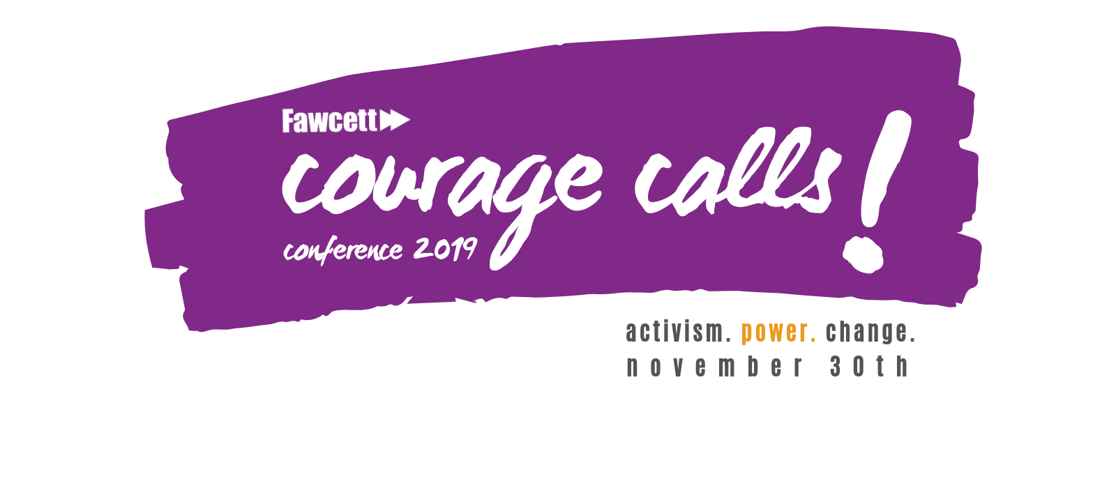 Courage Calls! Conference 2019 - 1/3 off for equality organisations