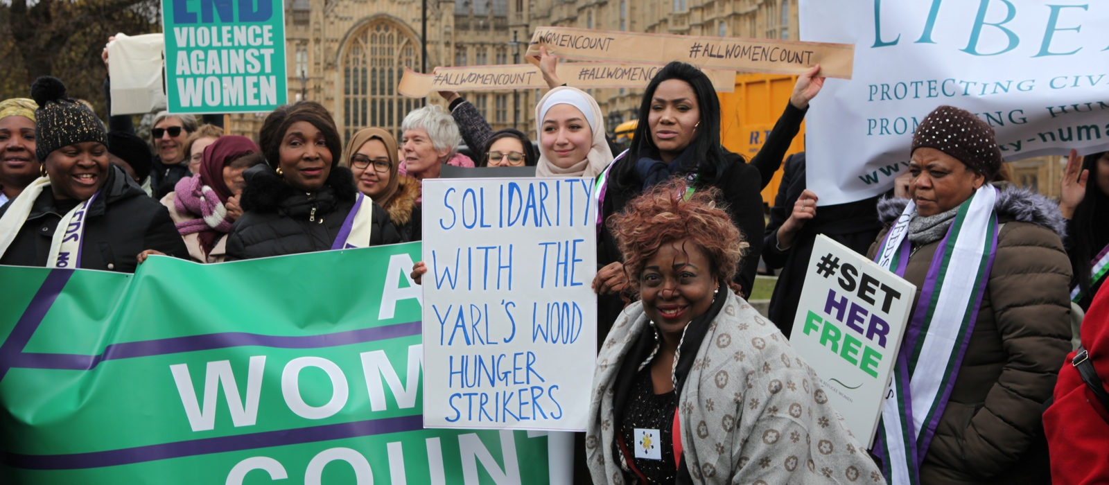 90 years after Equal Franchise, suffrage campaigners are inspiring refugee women