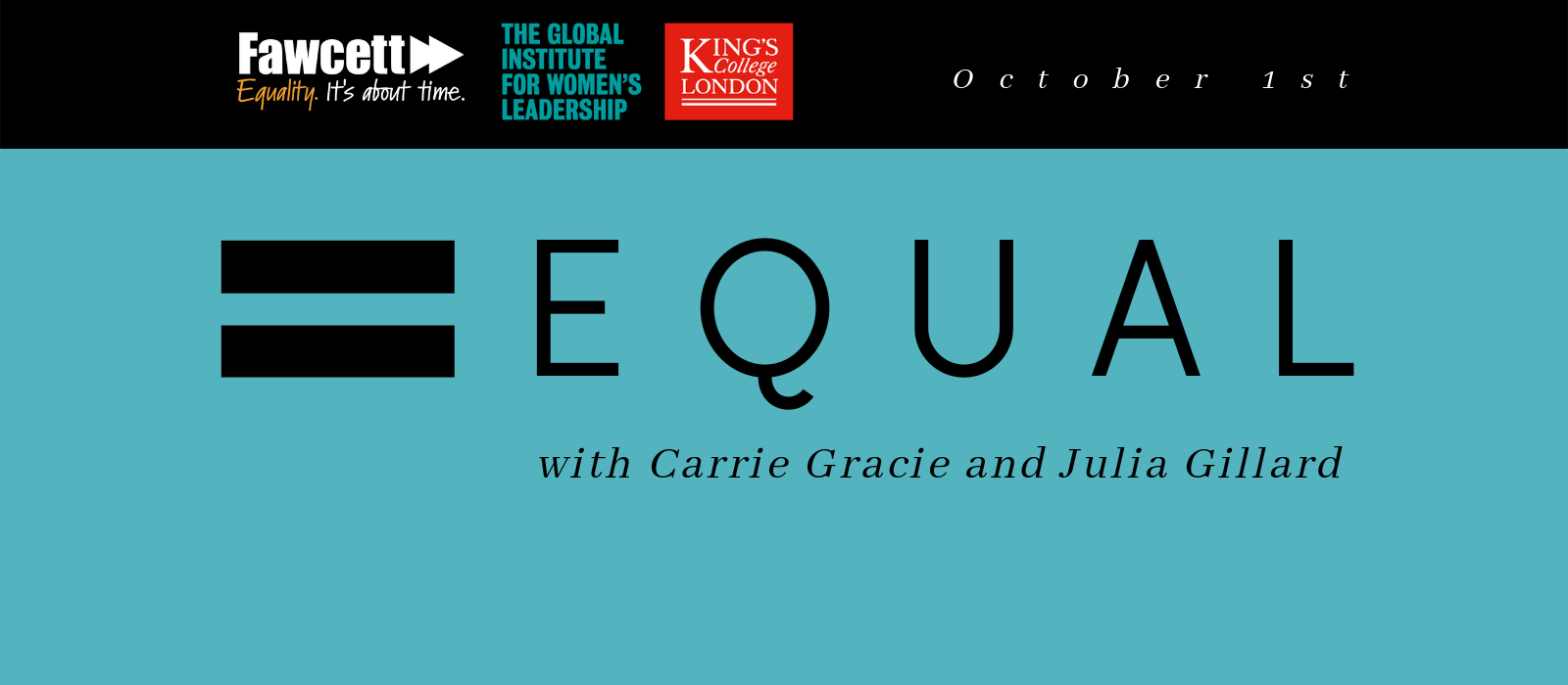 WATCH NOW: Equal: Carrie Gracie in conversation with Julia Gillard
