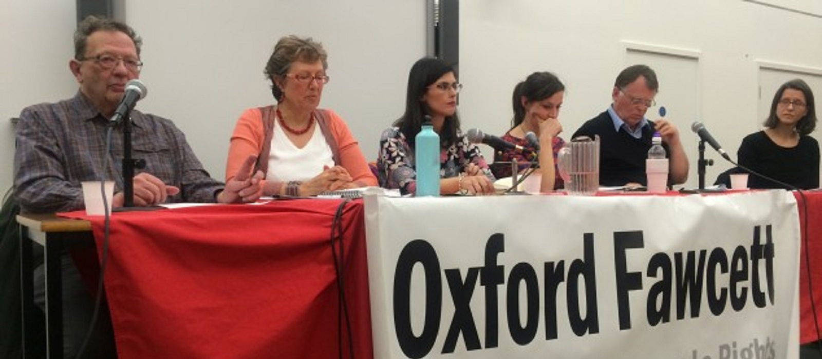 Women panel at a hustings event